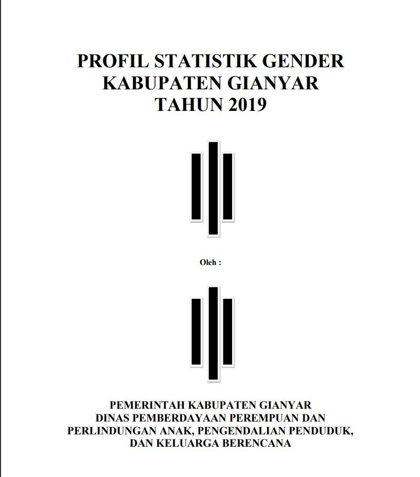 Statistik Gender Kabupaten Gianyar Tahun 2019