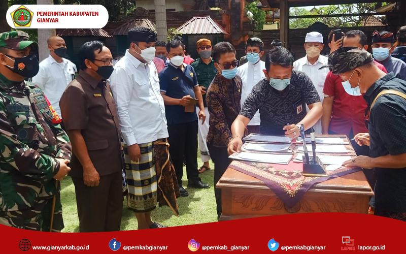 Desa Adat Jero Kuta, Pejeng dan 70 Warga Sepakat Berdamai
