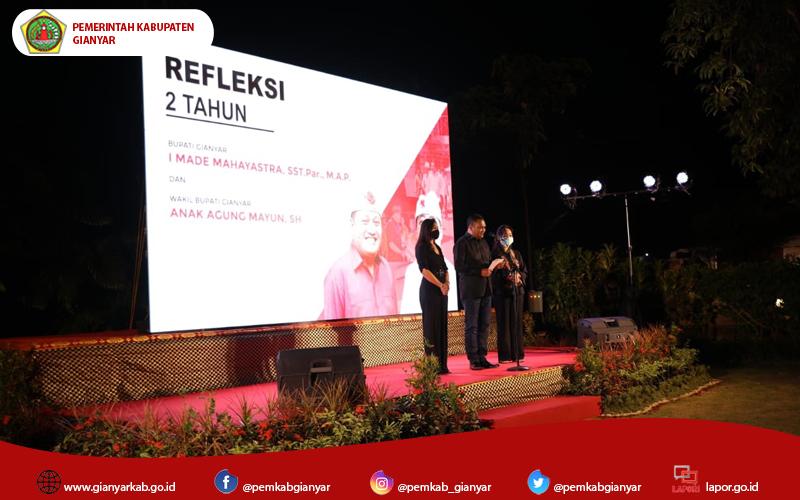 2 Tahun Refleksi Kepemimpinan Bupati Mahayastra dan Wakil Bupati Agung Mayun
