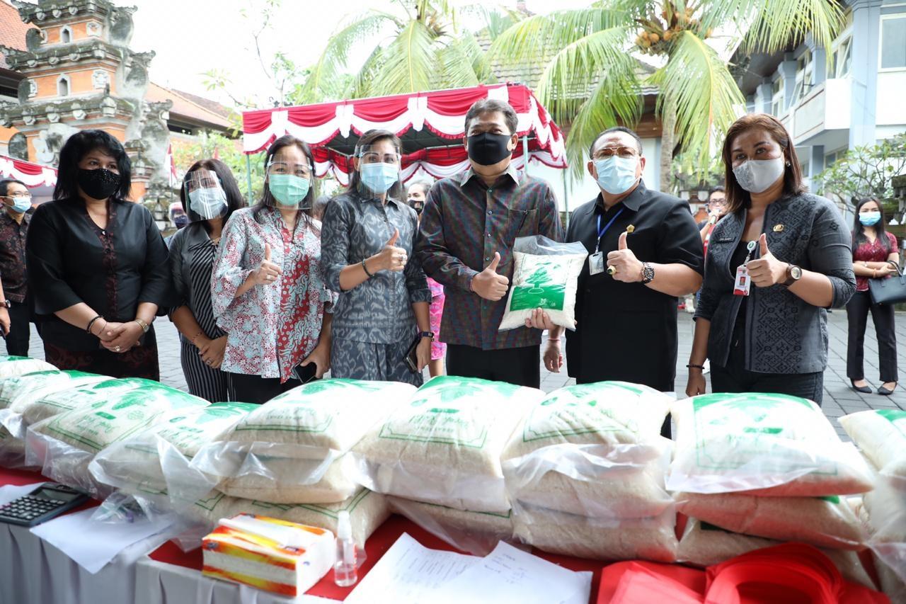 Pemkab Gianyar Launching Pasar Gotong Royong Krama Bali
