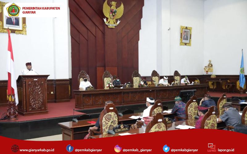 Fraksi DPRD Kabupaten Gianyar Dorong Pengesahan RAPBD