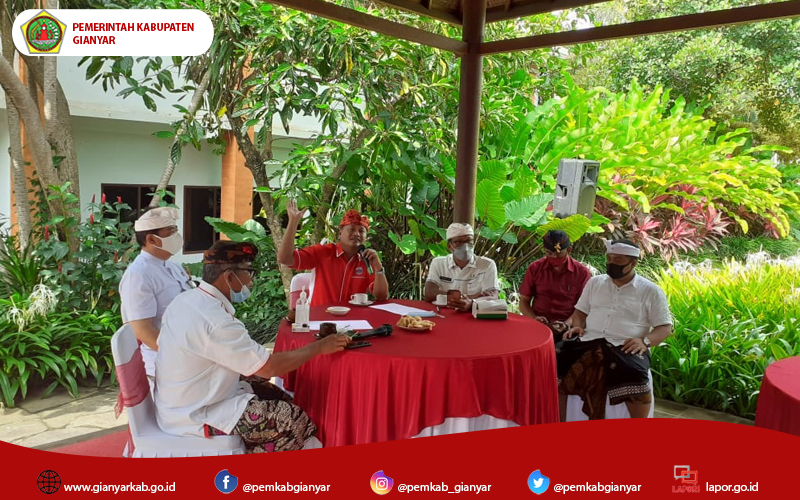 Punya strategi rahasia, Bupati Mahayastra: Secepatnya Gianyar akan bebas covid