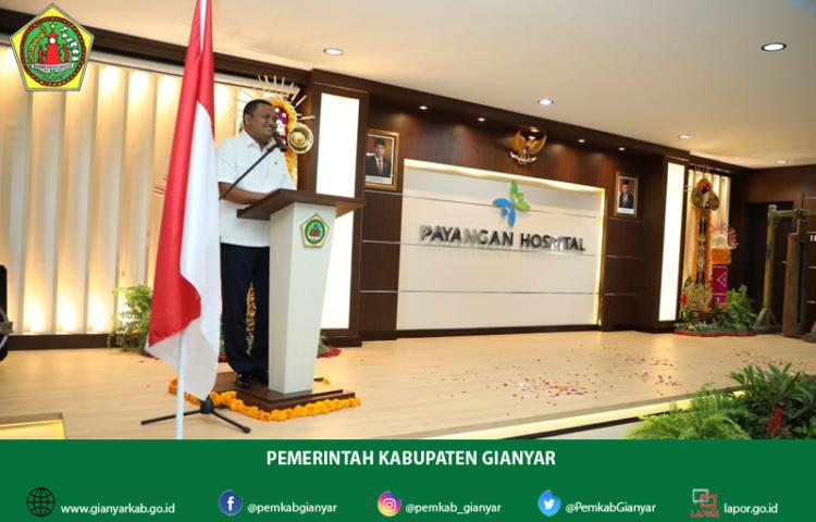 Soft Launching RSU Payangan, Gianyar